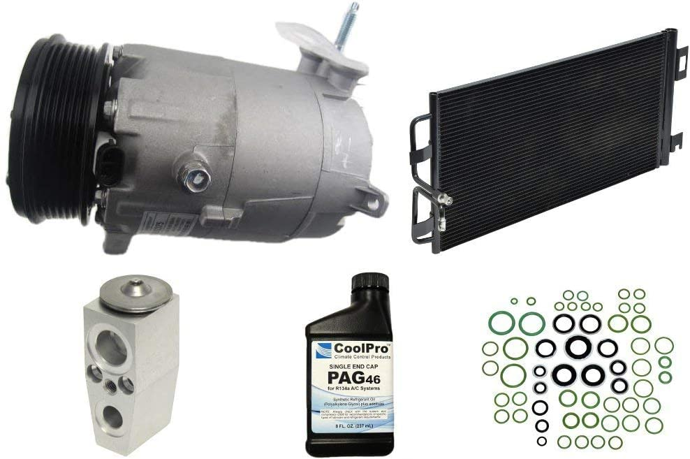 Parts Realm CO-21471AK Limited time trial price Complete A Kit Replacement Compressor Popular standard C