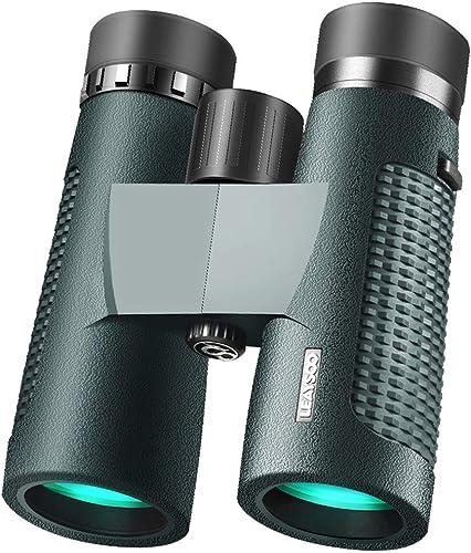 QYSZYG Jumelles de randonnée, Astronomie d'observation d'oiseaux et Objectif à grossissement élevé 10x42 Télescope (Taille   10x42)
