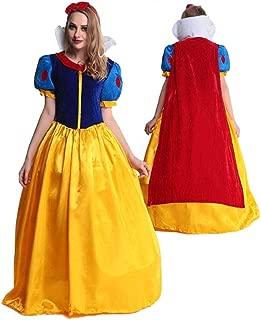 【 パニエ付き 】monoii 白雪姫 コスプレ 衣装 大人 ハロウィン 女王 仮装 コスチューム xl ドレス 399