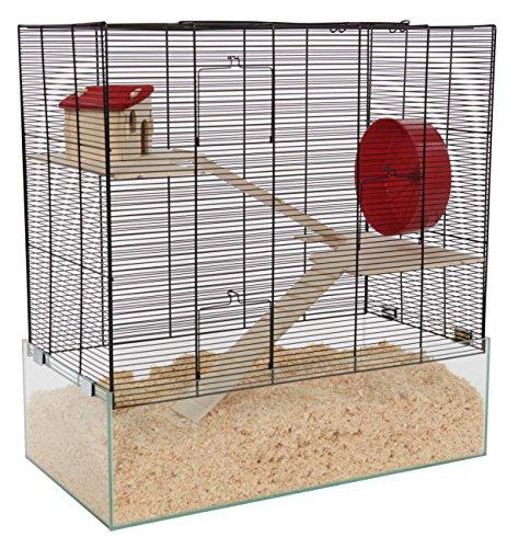 PETGARD Mäuse- & Hamsterheim - Kleintierkäfig Oregon