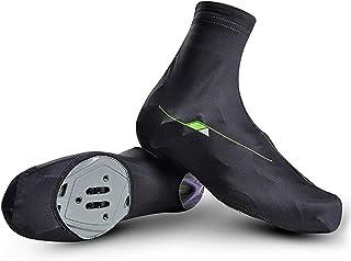 KUYG Fietsschoenen, neopreen, waterdicht, winterwarme overschoenen, voor mannen en vrouwen, racefiets-mountainbike-laarzen
