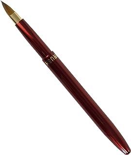 ARRLS-4 熊野筆 六角館さくら堂 携帯用リップブラシ丸筆 イタチ毛100% リップのキワまでしっかりきれいなラインが描けます
