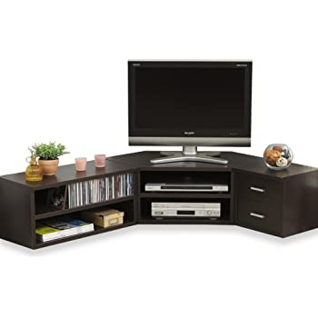 LOWYA TVボード テレビ台 TV台 AVボード ローボード コーナー対応 ブラウン