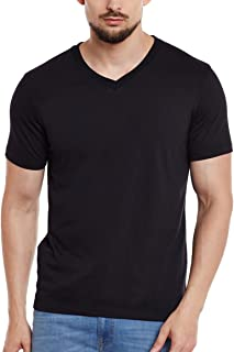 Vimal Men's Cotton V Neck T-Shirt