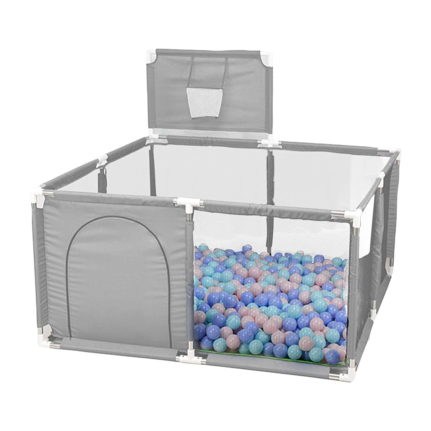 Outstanding Baby Playpen Portable Extra Large New product!! Basketbal Mesh Fence with