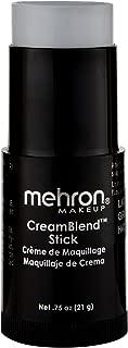 Mehron Makeup CreamBlend Stick (0.75 Ounce) (LIGHT GREY)