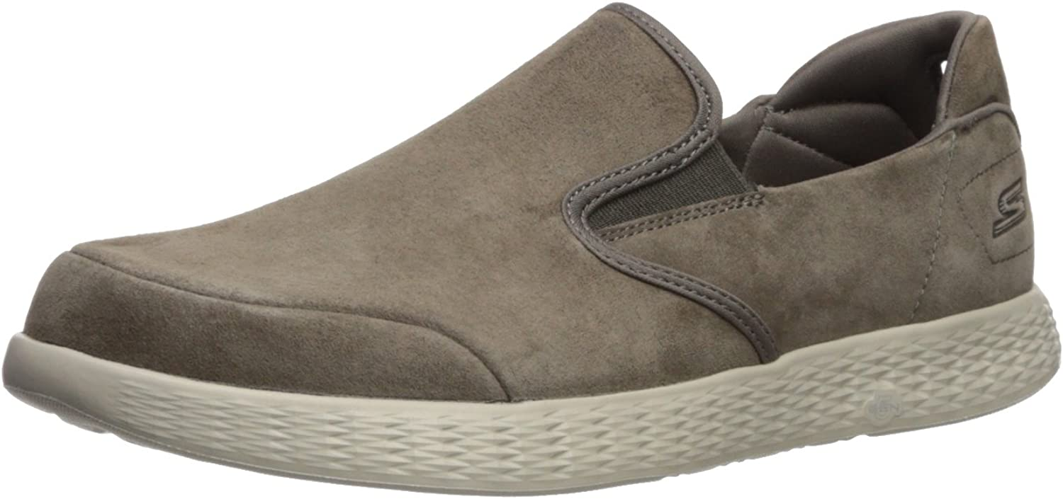 Skechers Performance Mans on -the -the -the -Go Glide -Lusso Loafer, Khaki, 8.5 M USA  grossist billig