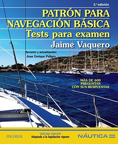 Patrón para navegación básica: Tests para examen (Náutica)