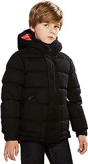 SOLOCOTE Coats boy Cotton Waterproof Outdoor Wind Breaker Outwear Jacket