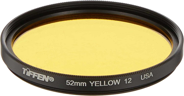 Denver Mall Tiffen 52mm 12 outlet Filter Yellow