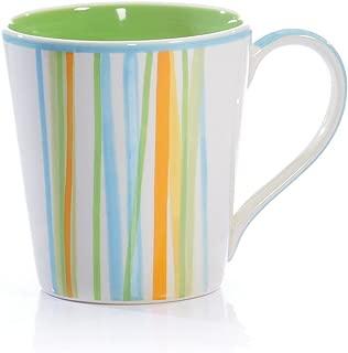 Hues & Brews 24-Ounce Infuser Teapot, Criss-Cross, 1-Pack