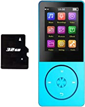 $26 » 32GB Mp3 Player, Hotechs Hi-Fi Sound, with FM Radio, Recording Function Build-in Speaker Expandable Up to 64GB with Noise ...