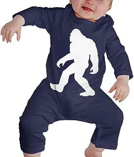 Baby Boy Long Sleeved Coveralls Bigfoot Sasquatch-1 Kid Pajamas