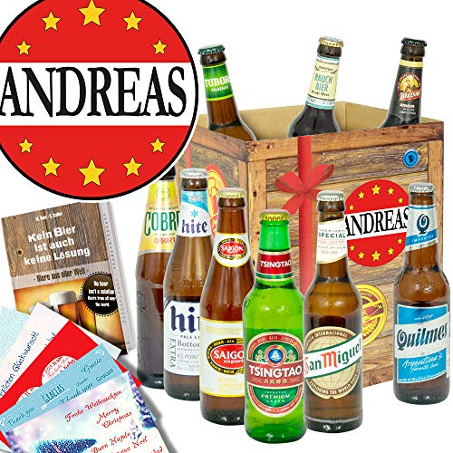 Andreas/Jubiläum Andreas Geschenk/Bier aus aller Welt