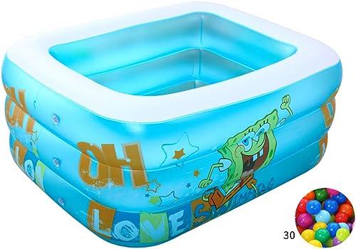 increíbles descuentos ZDYG Piscina de 3 Anillos, Cerca Inflable para para para el hogar de los Niños, Piscina para Niños de Interior, Piscina Inflable Familiar del Centro de natación, Piscina sobre el Suelo  salida de fábrica
