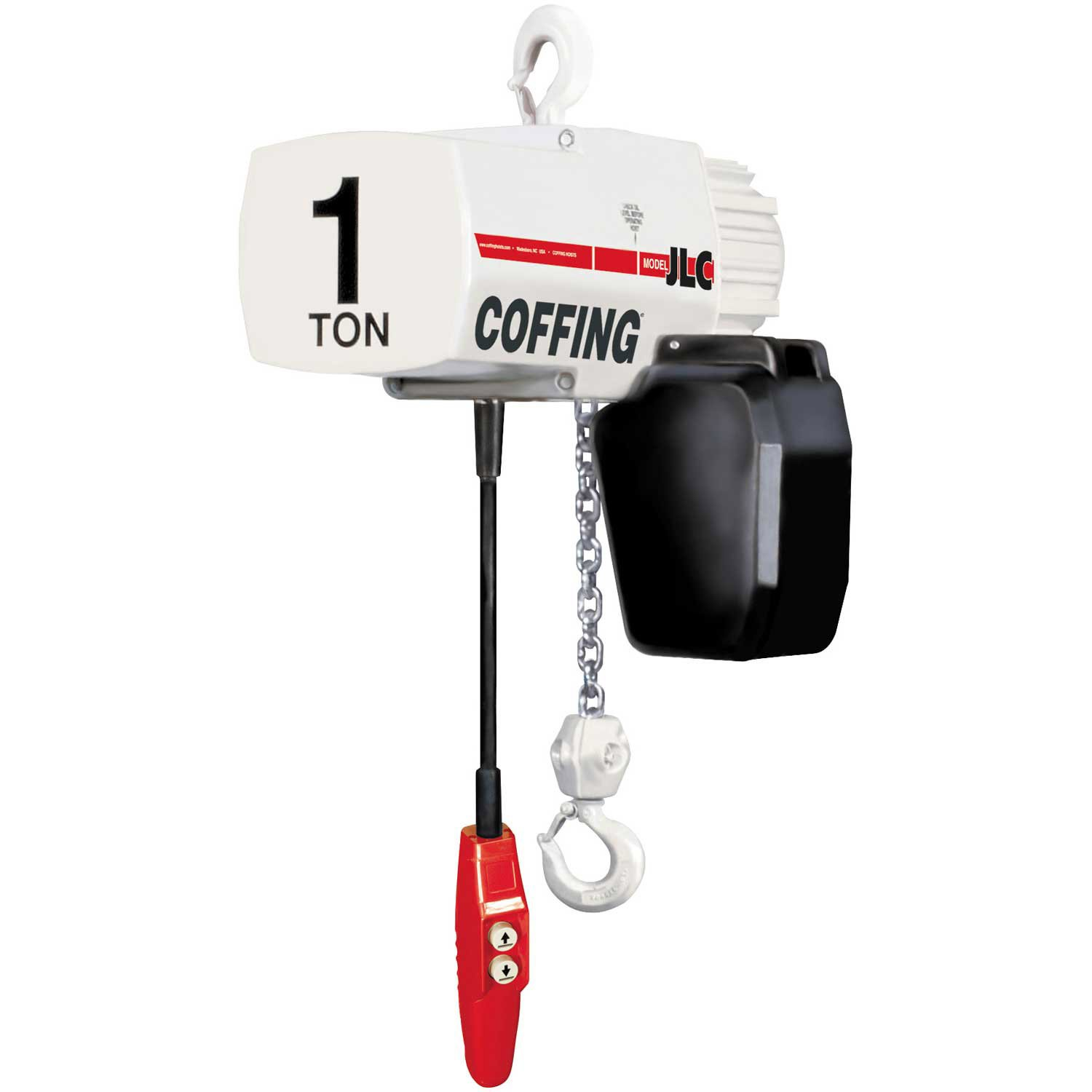 Coffing 08221W Excellence JLC Series Electric lb. Special price Capacit 1000 Hoist Chain