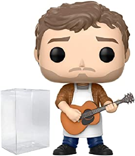 Funko Pop! Television: Parks and Recreation - Andy Dwyer Vinyl Figure (Bundled with Pop Box Protector Case)