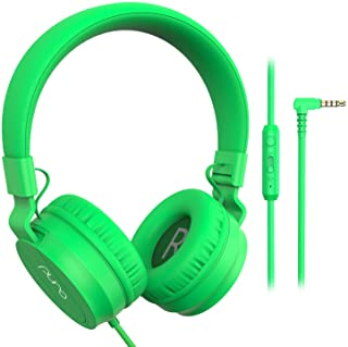 PuroBasic Volume Limiting Wired Headphones for Kids, Boys, Girls 2+ Foldable & Adjustable Headband, Compatible with iPad, ...
