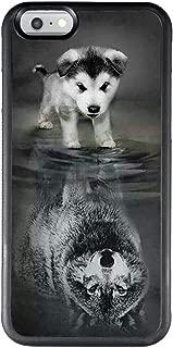 black wolf design