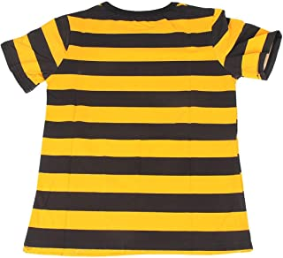 a0c9ae885c Mujeres Camiseta del Verano de Moda de Corea Raya Camiseta Manga Corta  Cuello Redondo Tops Todo