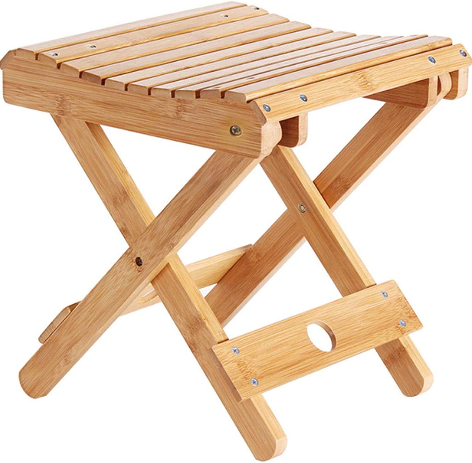 NJ stools  Household Folding Wooden Bench 29x26cm (Size   Full plate type 29x26x31.5cm)