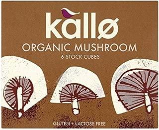 Kallo Organic Mushroom Stock Cubes - 66g
