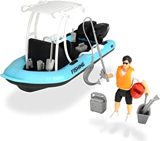 DICKIE TOYS 203833004 Playlife Fishing Boat with Figure 20 cm