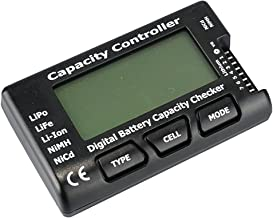 "Sungpunet EDEALLINE 2.1"" RC Cell Meter-7 Digital Battery Capacity Checker/Controller for NiCd/NiMH/LiPo/LiFe/Li-ion"