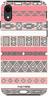 Macmerise IPCIXRTMI1538 Peach Aztec - Tough Case for iPhone XR - Multicolor (Pack of1)
