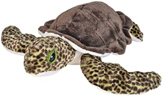 "Wild Republic Green Sea Turtle, Stuffed Animal, Plush Toy, Gifts for Kids, Cuddlekins, 20"" (21653)"