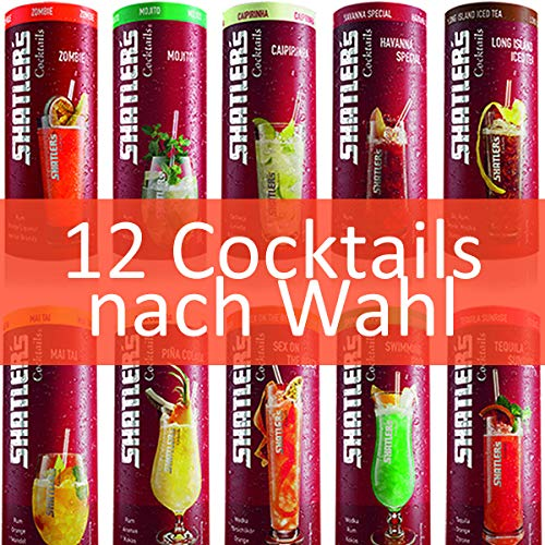 Shatler´s Cocktail Wunsch-Paket (12x0,2l)
