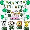 誕生日 飾り付け 男の子 誕生日 バルーン アニマルバルーン 動物デカ風船 Happy Birthday バルーン 飾り付け バースデー セット パーティー プレゼント 飾り 動物園 アニマル 風船 男の子 女の子 インスタ映え