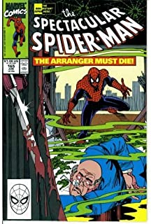 The Spectacular Spider-Man #165 : Knight and Fogg (Marvel Comics)