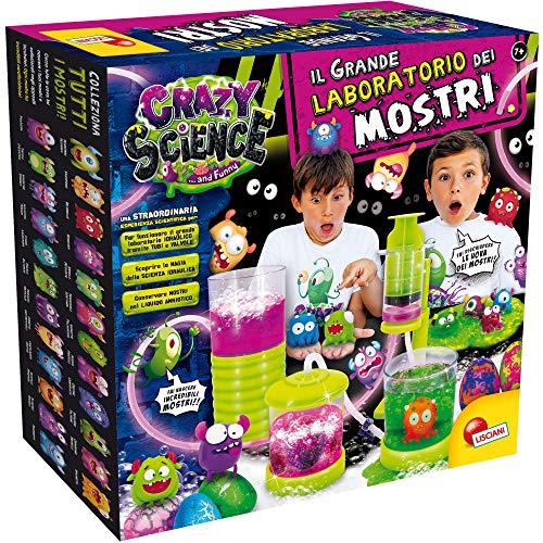 Lisciani Giochi - Crazy Science La Grande Fabbrica dei Mostri Gioco per Bambini, 77281