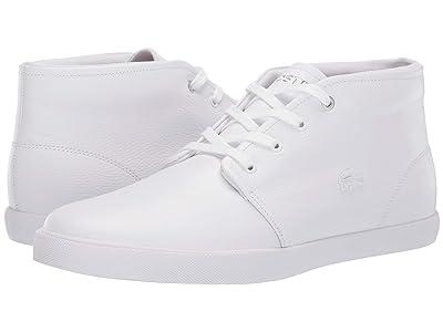 Lacoste Asparta 119 1 P (White/White) Men