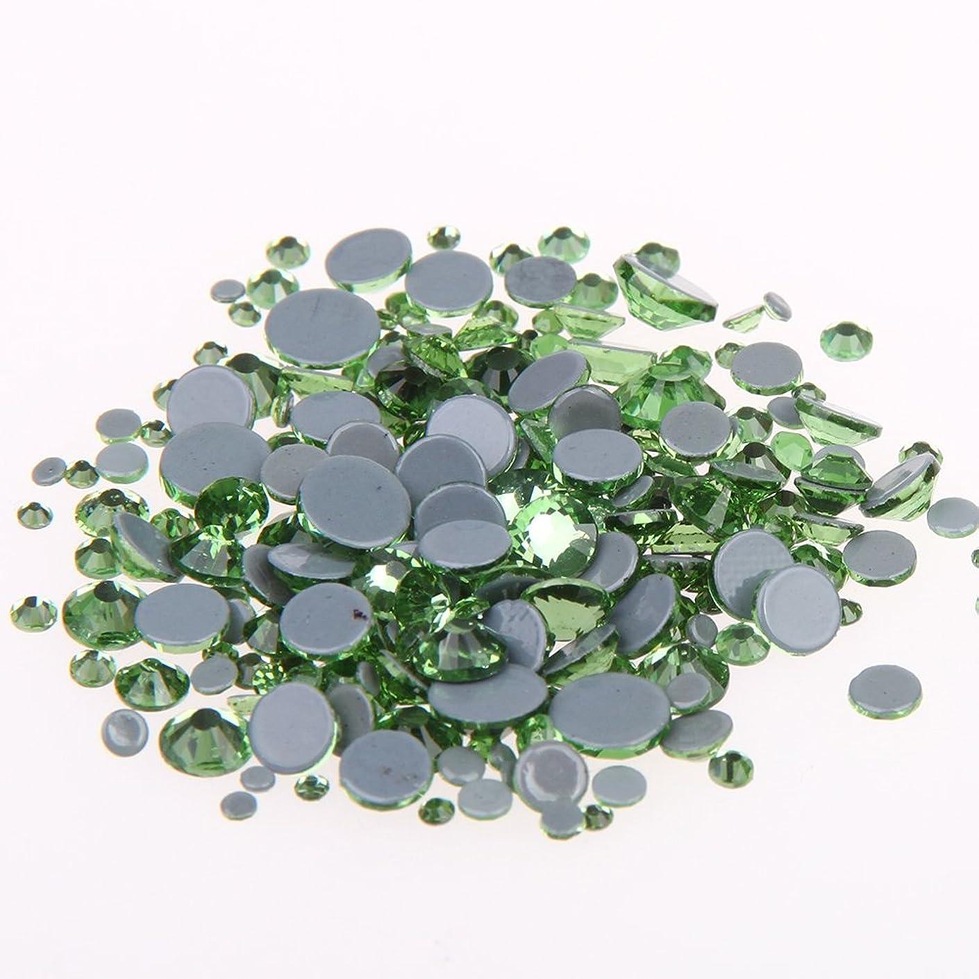 まだら管理者説得力のあるNizi ジュエリー ブランド ペリドット ホットフィックスラインストーン は ガラスの材質 衣類 ネイル使用 型番ss6-ss30 (SS10 1440pcs)