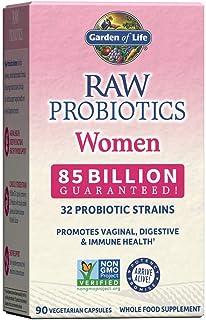 Garden of Life Raw Probiotics for Women - 85 Billion CFU Vaginal Probiotics with Vitamins, Minerals, Fruits, Veggies & Enz...