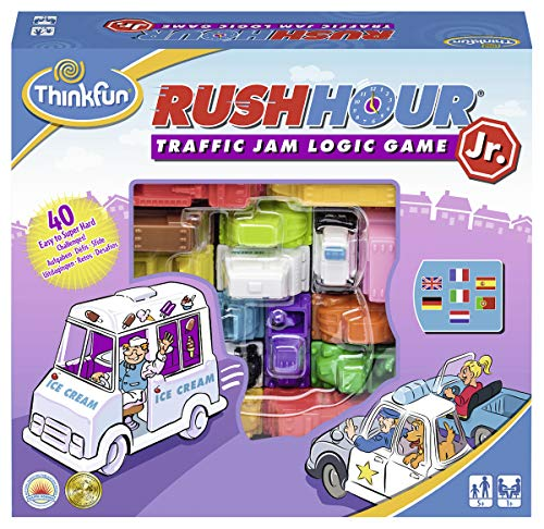 RAVENSBURGER Think Fun Rush Hour Jr. (76337), Multicolor