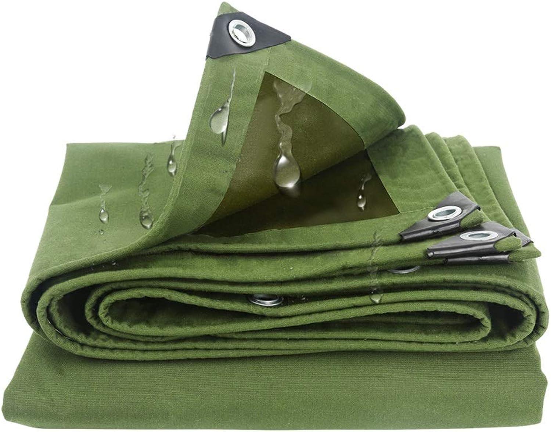 Jia He Tarpaulin Canvas Tarpaulin Tarpaulin Tarpaulin Tarpaulin Sunscreen Cover Padded Rainproof Tarpaulin, Green, 16 Sizes @@ (Size   3mX4m)