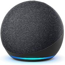 De nieuwe Echo Dot (4e generatie) Internationale versie | Smart luidspreker met Alexa | Antraciet | Nederlandse taal niet ...