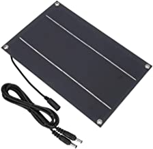12V 6w Solar Panel, Waterproof Outdoor Solar Charger Portable Mini High Efficient Solar Panel Generator  for Travel, Camping, etc