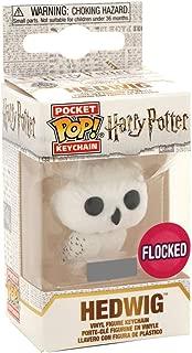 Funko Pop Keychain: Harry Potter - Hedwig (Flocked) Exclusive