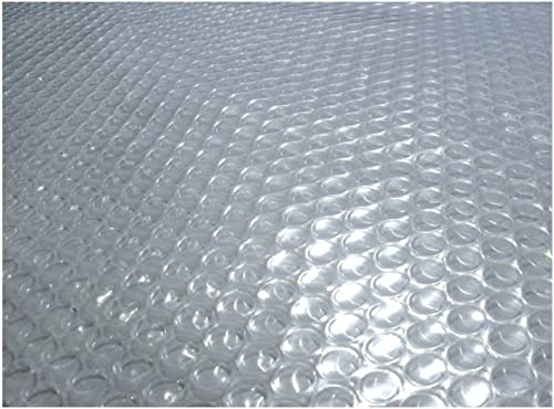 Blue Wave Oval 12-mil Clear Solar Blanket for Above Ground Pools