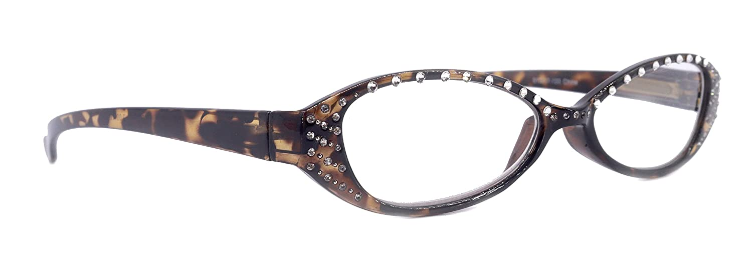 Limited price 40% OFF Cheap Sale Reading Glasses For Women Adorned +1.25 Genuine W +1.50 Crystal