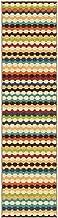 RugPal Orian Rugs Indoor/Outdoor Stripes Nik Nak Gemstone Runner 1'10 x 7'5