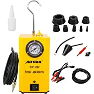 AUTOOL SDT-202 Automotive 12V Locator Support EVAP Fuel Detector SDT202 Car Pipe Leak Tester for...