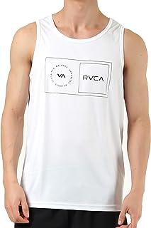 RVCA(ルーカ) メンズ 水着 ハイブリット 水陸両用 ブラック 黒 タンクトップ ラッシュガード ba041-855