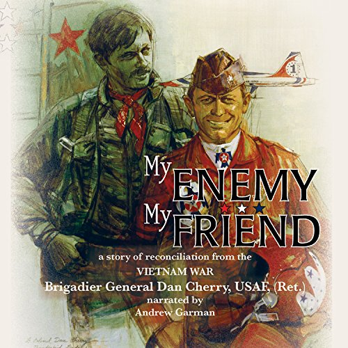 My Enemy, My Friend audiobook cover art
