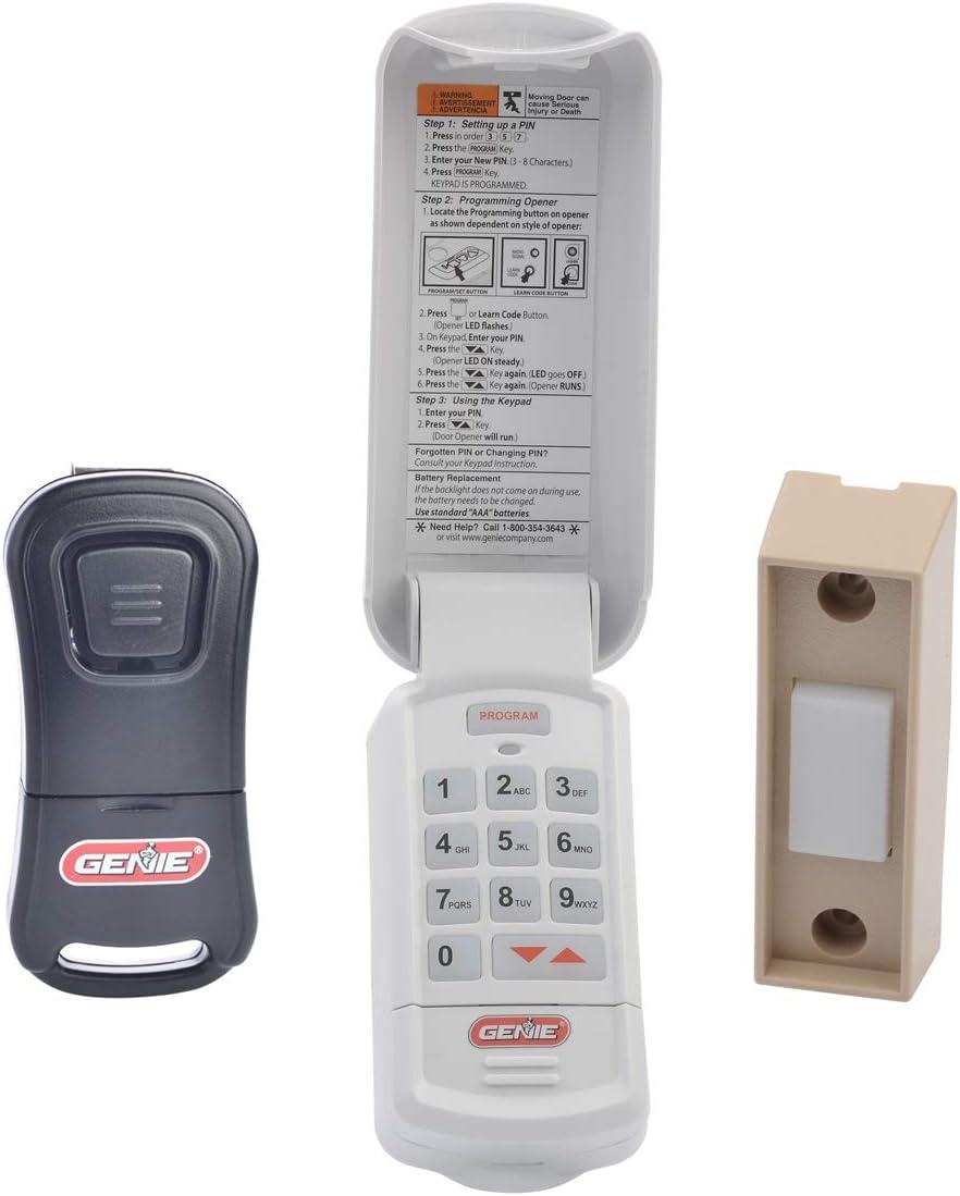 Genie Genuine Accessories service Bundle - Button Garage Popular overseas Single Door Ope