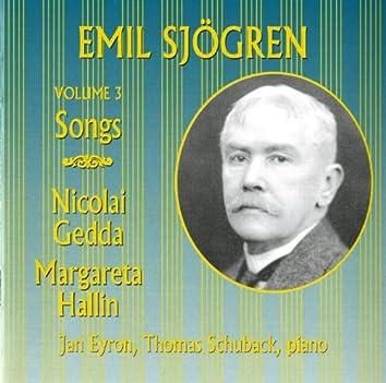 Sjogren: Songs, Vol. 3